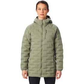 Mountain Hardwear Super/DS Stretchdown Parka Dames, groen